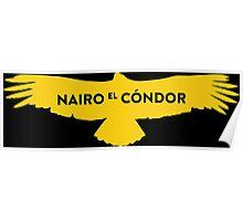 """Nairo Quintana """"El Condor"""" : TDF Yellow Logo Poster"""