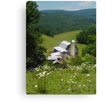 Rush Branch Barn Canvas Print
