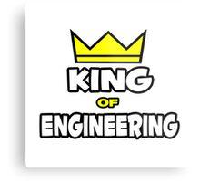 King of Engineering Metal Print