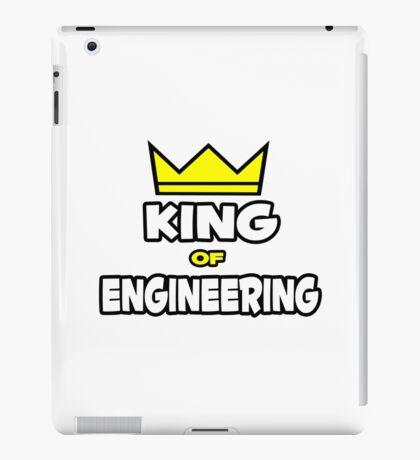 King of Engineering iPad Case/Skin