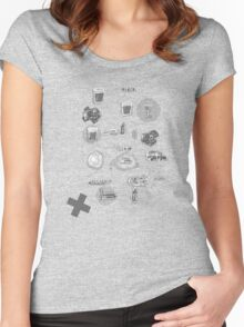 The Plan Women's Fitted Scoop T-Shirt