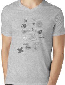The Plan Mens V-Neck T-Shirt
