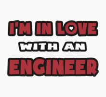 I'm In Love With An Engineer Baby Tee