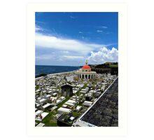 San Juan Cemetery - San Juan Puerto Rico Art Print