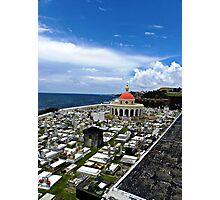 San Juan Cemetery - San Juan Puerto Rico Photographic Print