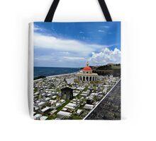 San Juan Cemetery - San Juan Puerto Rico Tote Bag