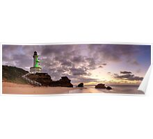 Point Lonsdale Lighthouse Pre-Dawn, Australia Poster