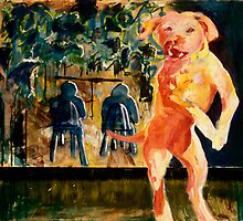 Lunch at Bernies, 1992 by kerby