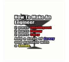 How To Make An Engineer Art Print