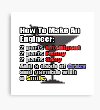How To Make An Engineer Metal Print