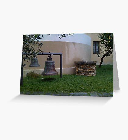 Italian Zen Bells Greeting Card
