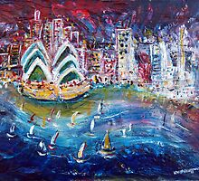 Sydney at Night by Wendy Eriksson