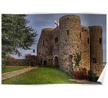 Rye Castle  - Ypres Tower Poster