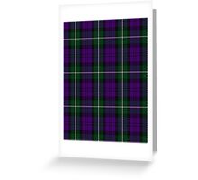 00437 Baillie Highland Society Tartan Greeting Card