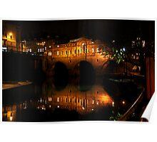 Pulteney Bridge, Bath Poster