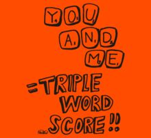 Triple Word Score by PlanBee