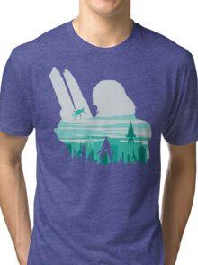 Reaper invasion of Earth (Femshep) Tri-blend T-Shirt