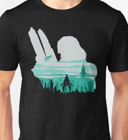 Reaper invasion of Earth (Femshep) Unisex T-Shirt
