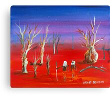 Sundown Outback Canvas Print