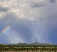 Rainbow over San Bernardino Valley by Cathy L. Gregg