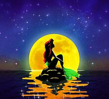 The Mermaid and the Moon by Ellador