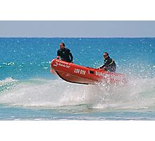 IRB action at Lorne (01) Photographic Print