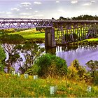 Nicholson River Tressle Bridge by Jennifer Craker