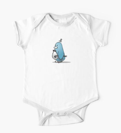 Niles the Penguin One Piece - Short Sleeve