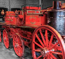 Antique Fire Engine by Don Alexander Lumsden (Echo7)
