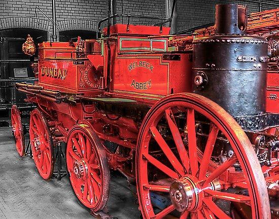 Antique Fire Engine by Don Alexander Lumsden (Echo7)