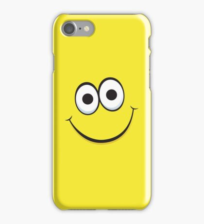 Happy yellow face iPhone case iPhone Case/Skin