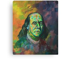 Ben Franklin Canvas Print