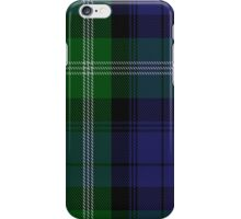 00440 Baillie of Polkemment Clan/Family Tartan  iPhone Case/Skin