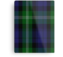 00440 Baillie of Polkemment Clan/Family Tartan  Metal Print