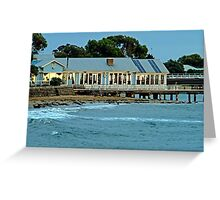 Sunrise,Barwon Heads Boat Shed Cafe Greeting Card