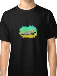 Abstract Female On The Beach Classic T-Shirt