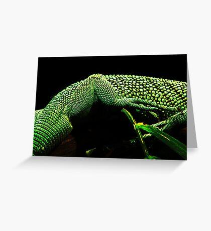 Lizard Skin Greeting Card