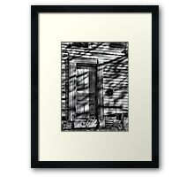 Moonlit Entry Framed Print