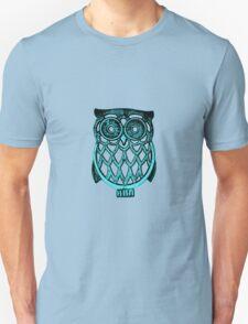 cyan owl T-Shirt