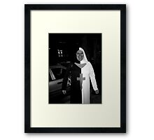 Red Light Worship - Newark NJ Framed Print