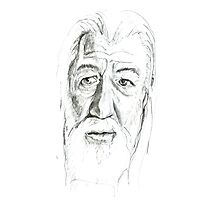 Gandalf - Ian McKellen Photographic Print