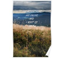 Mountains are calling 2 Poster
