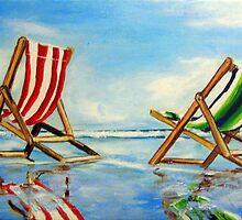 Beach Breeze  by gillsart