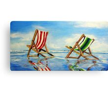 Beach Breeze  Canvas Print
