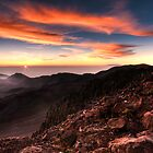 Sunrise over Haleakala, Maui by Tim Poitevin