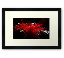Cold Blood - Abstract CG Framed Print