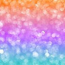 Colorful Bokeh Glitter And Sparkles by artonwear