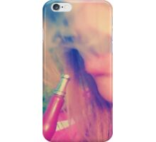 Smoke the day away iPhone Case/Skin