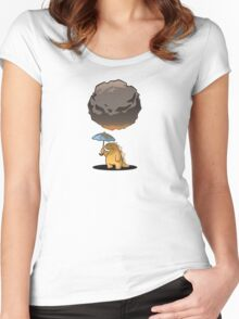 A Gift from Above... Women's Fitted Scoop T-Shirt