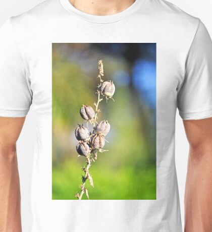 RED YUCCA SEED PODS Unisex T-Shirt